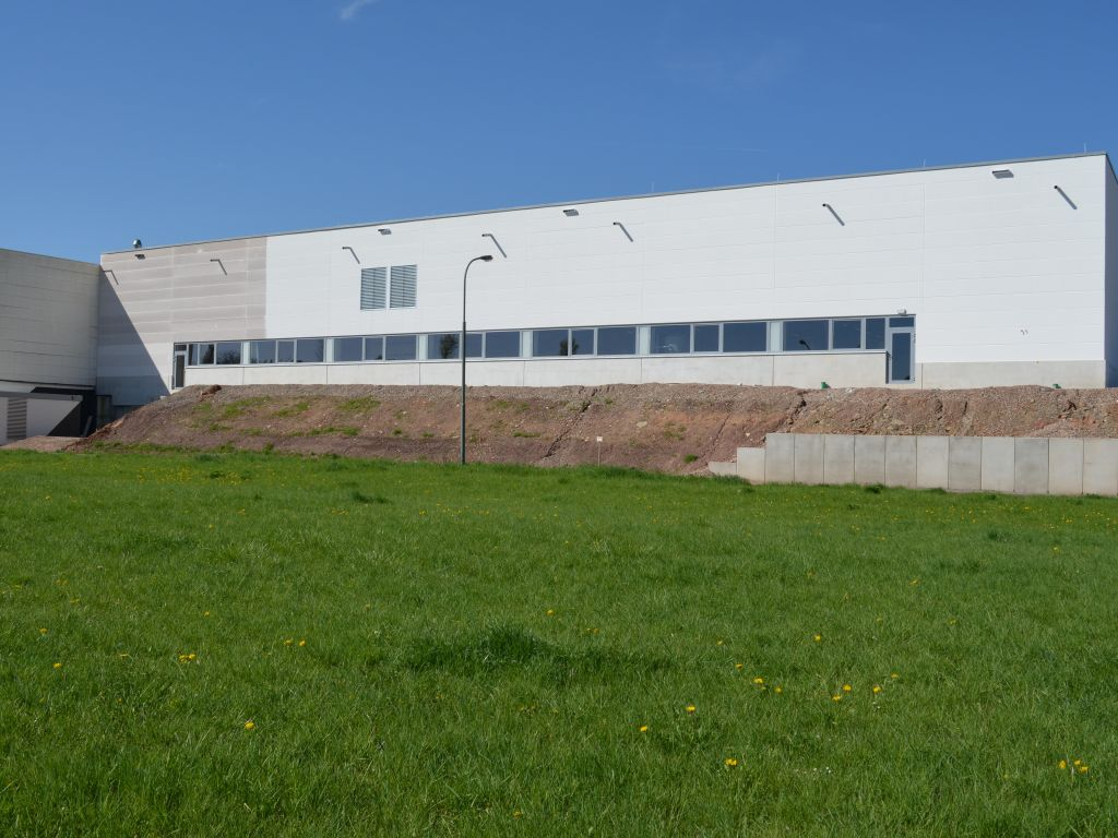Anbau Produktionshalle Fa. Stabo, Fulda